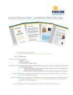 Content Selection Sheet **Downloadable**