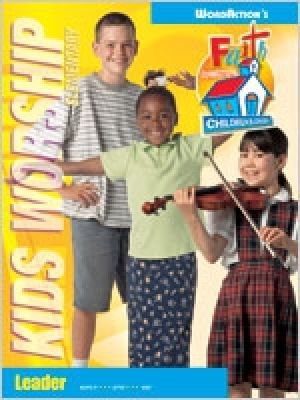 Kids Worship Connections Leader's Guide Grades 1-6 (Spring)