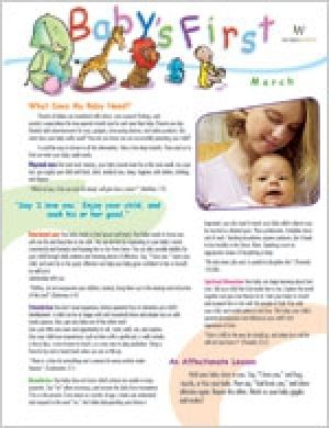 Word Action Baby's First Parent Newsletter (Spring)