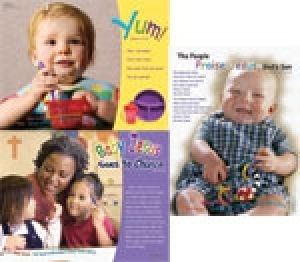 Word Action Toddlers/Twos & Babies Too! Poster Set (Spring)