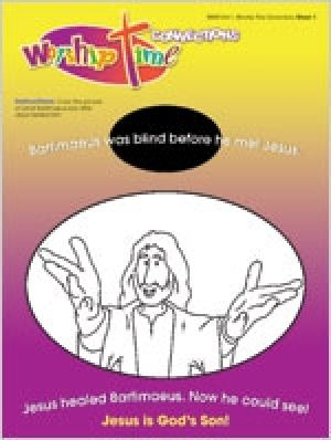 Worship Time Connections, Pack of 8:  Ages 3-6 (Spring)