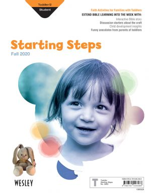 Wesley Toddler/2 Starting Steps, Take-Home Paper (Fall)