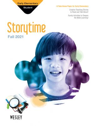 Wesley Early Elementary Storytime, Take-Home Paper (Fall)