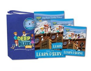 Deep Blue One Room Sunday School Kit (Spring)