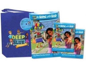 Deep Blue One Room Sunday School Kit (Fall)