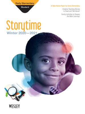 Wesley Early Elementary Storytime, Take-Home (Winter)