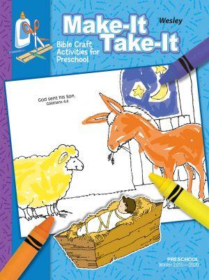 Wesley Preschool Make It/Take it Craft Activities (Winter)