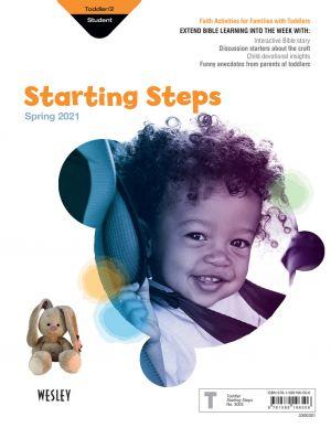 Wesley Toddler/2 Starting Steps, Take-Home (Spring)