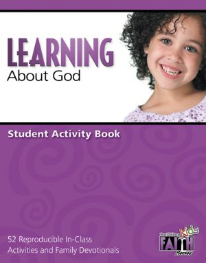 Building Faith Kids Series - Learning About God Student Activity Book (Preschool)