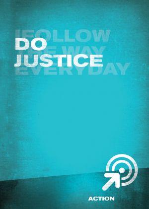 iFollow - Do Justice  (Teen Discipleship Resource)