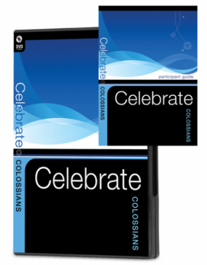 Celebrate Colossians Combo - 1 DVD and 10 Participant Guides