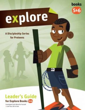 Explore Leader's Guide (Books 5 & 6) and 10 Copies of Student Book 5