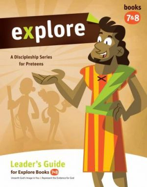Explore Leader's Guide (Books 7 & 8) and 5 copies of Student Books 7 and 8