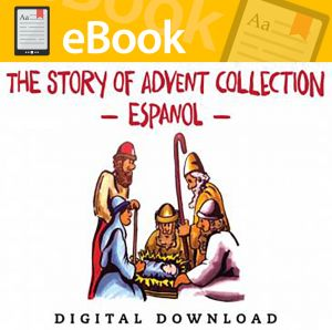 La historia del Adviento Coleccion - Spanish Digital Download (Speed Sketch Bible Stories)
