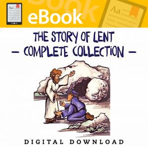 The Story of Lent Complete Collection - English & Spanish (Speed Sketch Bible Stories)