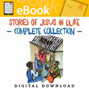 Stories of Jesus in Luke Complete Collection - English & Spanish (Speed Sketch Bible Stories)