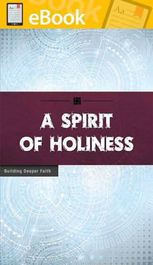 A Spirit of Holiness **E-BOOK** (Building Deeper Faith Series)