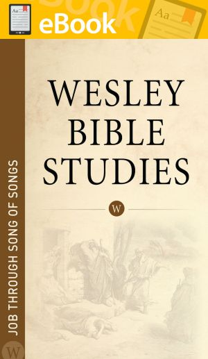 Wesley Bible Studies: Job through Song of Songs **E-BOOK**