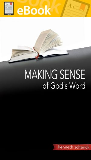 Making Sense of God's Word **E-BOOK**