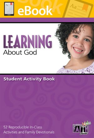 Building Faith Kids Series - Learning About God Student Activity Book (Preschool) **PDF**