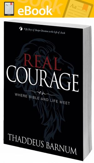 Real Courage: Where Bible and Life Meet **E-BOOK**