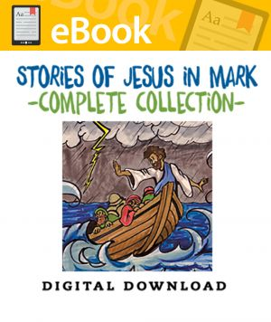 Stories of Jesus in Mark Complete Collection - English & Spanish (Speed Sketch Bible Stories Series)