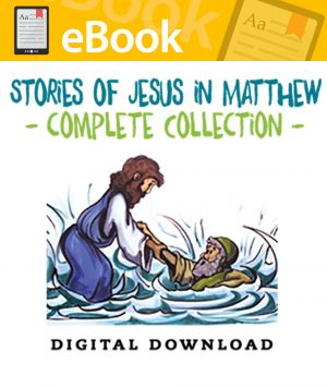 Stories of Jesus in Matthew Complete Collection - English & Spanish (Speed Sketch Bible Stories)
