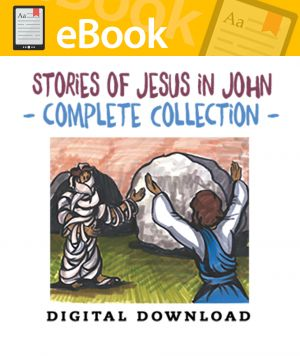 Stories of Jesus in John Complete Collection - English & Spanish (Speed Sketch Bible Stories)