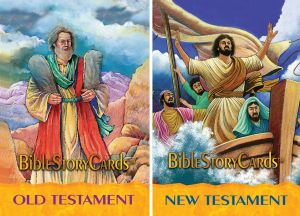 Bible Story Cards COMPLETE SET (100 cards)