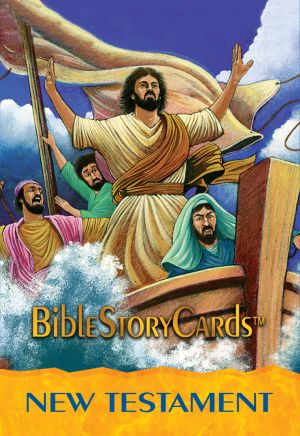 Bible Story Cards - New Testament Card Pack, Stories (50 Cards)