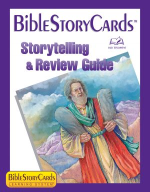 Bible Story Cards StoryTelling & Review Guide - Old Testament