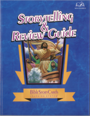 Bible Story Cards StoryTelling & Review Guide - New Testament