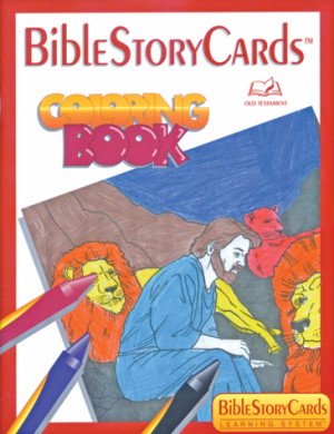 Bible Story Cards Coloring Book - Old Testament