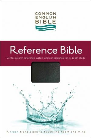 CEB Reference Bible, Bonded Leather Black