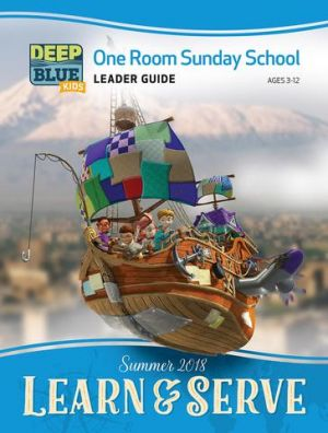 Deep Blue One Room Sunday School Extra Leader's Guide (Summer)