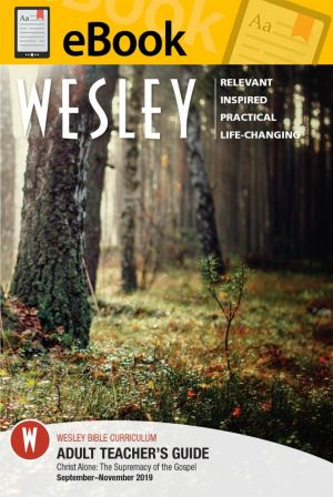 Wesley Bible Teacher - DIGITAL DOWNLOAD (Fall)