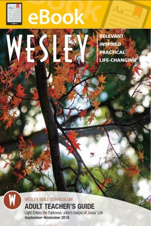 Wesley Adult Bible Teacher (Fall) **E-Book**