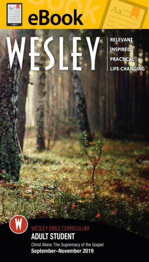Wesley Bible Student - DIGITAL DOWNLOAD (Fall)