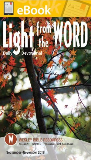 Light from the Word Daily Devotional  (FALL) **E-BOOK**