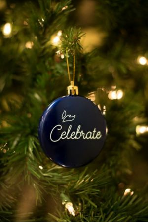 Celebrate Christmas Ornament