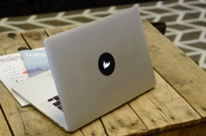 MacBook Dove Decal