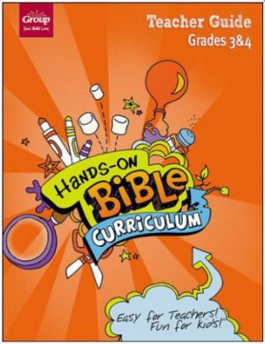 Hands-On Bible Curriculum Grades 3 & 4 Teacher Guide (Spring)