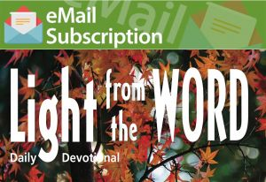 Light from the Word Email Subscription (Fall)