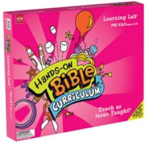 Hands-On Bible Curriculum Pre-K & K (Ages 5 & 6) Learning Lab (Spring)