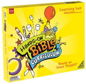 Hands-On Bible Curriculum Preschool Ages 3 & 4 Learning Lab (Spring)