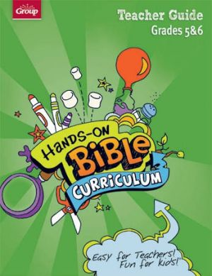 Hands-On Bible Curriculum Grades 5 & 6 Teacher Guide (Spring)