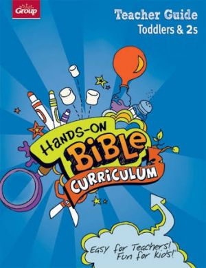 Hands-on Bible Curriculum for Teachers of Toddlers & Twos Teacher Guide (Winter)