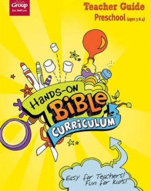 Hands-on Bible Curriculum Preschool Ages 3 & 4 Teacher Guide (Spring)