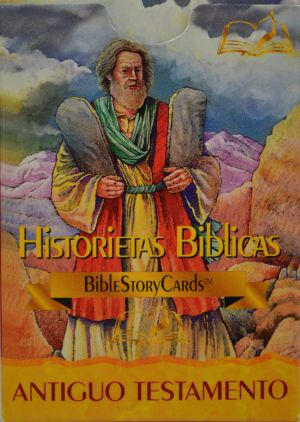 Fichas con Historias Biblicas - Antiguo Testamento (Spanish OT Bible Story Cards) 50 cards