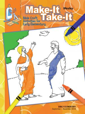 Wesley Early Elementary Make It/Take It Craft Activities (Fall)